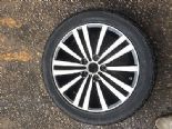 "2012 VW PASSAT SPORT 2.0 TDI B7 MINNEAPLOIS 17"" ALLOY WHEEL +NEW TYRE 3AA601025G"